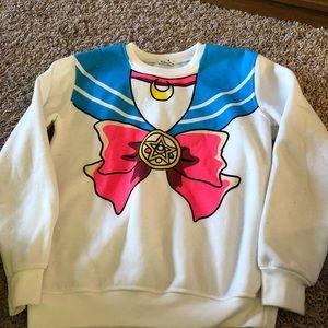 Sailor Moon sweatshirt. Small